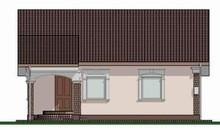 Архитектурный проект компактного домика 70 м