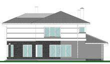 Проект светлой загородной усадьбы площадью 320 m²