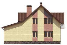 Проект красивого дома с рациональным распределением площадей