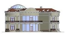 Проект роскошной резиденции с куполообразной крышей