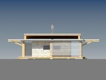 Красивый проект современной дачи с плоской крышей