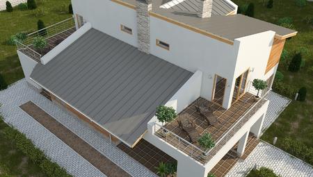 Красивый проект удобного двухэтажного дома с гаражом