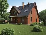 Красивый проект красивого коттеджа с кирпичным фасадом
