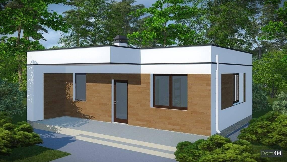 Проект просторной удобной бани в современном стиле