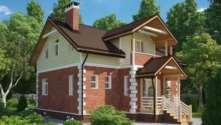Оригинальный проект загородного дома площадью 180 m²
